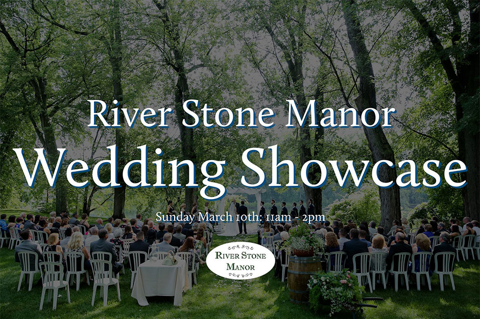 River Stone Manor Wedding Show 2017